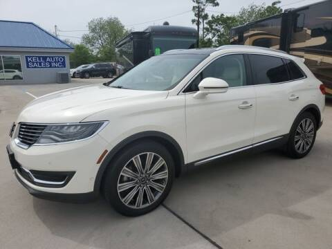 2016 Lincoln MKX for sale at Kell Auto Sales, Inc - Grace Street in Wichita Falls TX