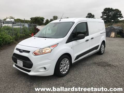2017 Ford Transit Connect Cargo for sale at Ballard Street Auto in Saugus MA