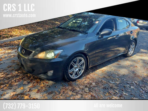 2006 Lexus IS 350 for sale at CRS 1 LLC in Lakewood NJ