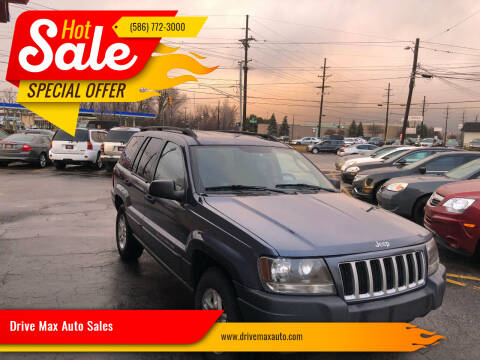 2004 Jeep Grand Cherokee for sale at Drive Max Auto Sales in Warren MI