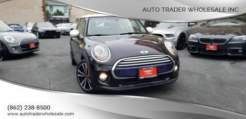 2015 MINI Hardtop 2 Door for sale at Auto Trader Wholesale Inc in Saddle Brook NJ