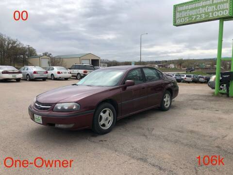 2000 Chevrolet Impala for sale at Independent Auto in Belle Fourche SD