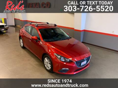 2014 Mazda MAZDA3 for sale at Red's Auto and Truck in Longmont CO