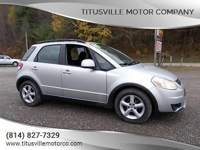 2007 Suzuki SX4 Crossover for sale at Titusville Motor Company in Titusville PA