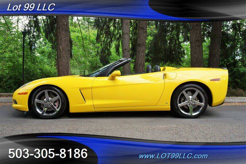 2007 Chevrolet Corvette for sale at LOT 99 LLC in Milwaukie OR
