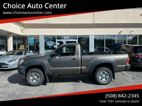 2012 Toyota Tacoma for sale at Choice Auto Center in Shrewsbury MA