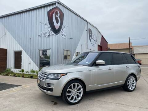 2016 Land Rover Range Rover for sale at Barrett Auto Gallery in San Juan TX