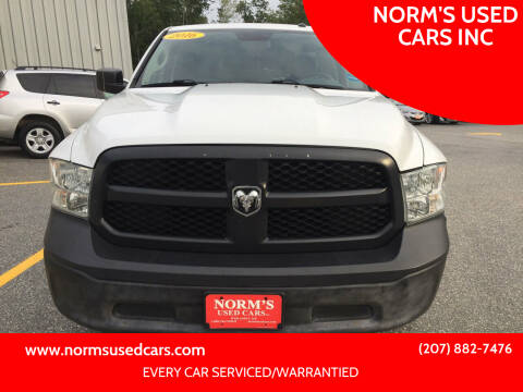 2016 RAM Ram Pickup 1500 for sale at NORM'S USED CARS INC in Wiscasset ME