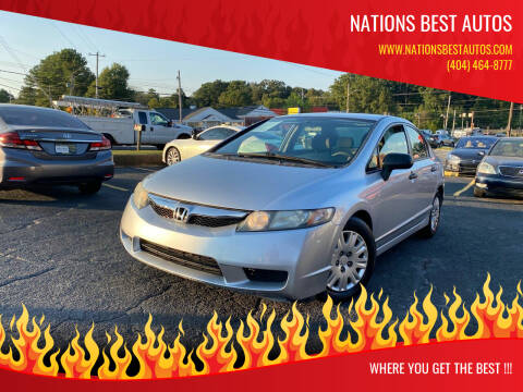 2011 Honda Civic for sale at Nations Best Autos in Decatur GA
