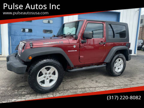 2008 Jeep Wrangler for sale at Pulse Autos Inc in Indianapolis IN