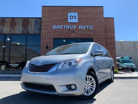 2013 Toyota Sienna for sale at Dastrup Auto in Lindon UT