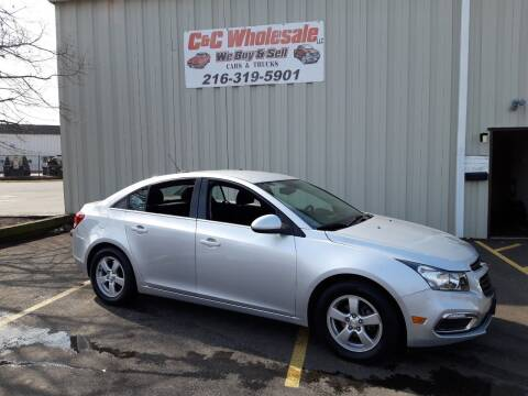 2016 Chevrolet Cruze Limited for sale at C & C Wholesale in Cleveland OH