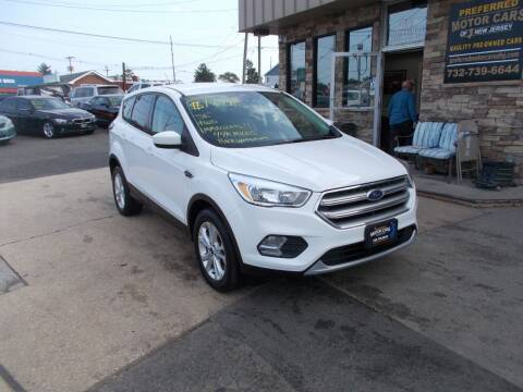 2017 Ford Escape for sale at Preferred Motor Cars of New Jersey in Keyport NJ