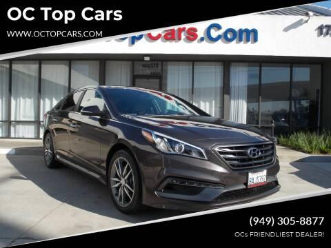 2015 Hyundai Sonata for sale at OC Top Cars in Irvine CA