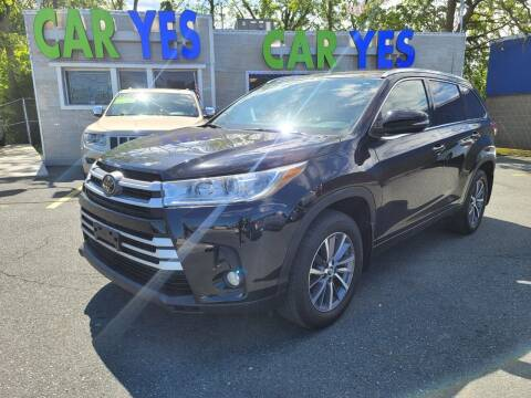 2018 Toyota Highlander for sale at Car Yes Auto Sales in Baltimore MD