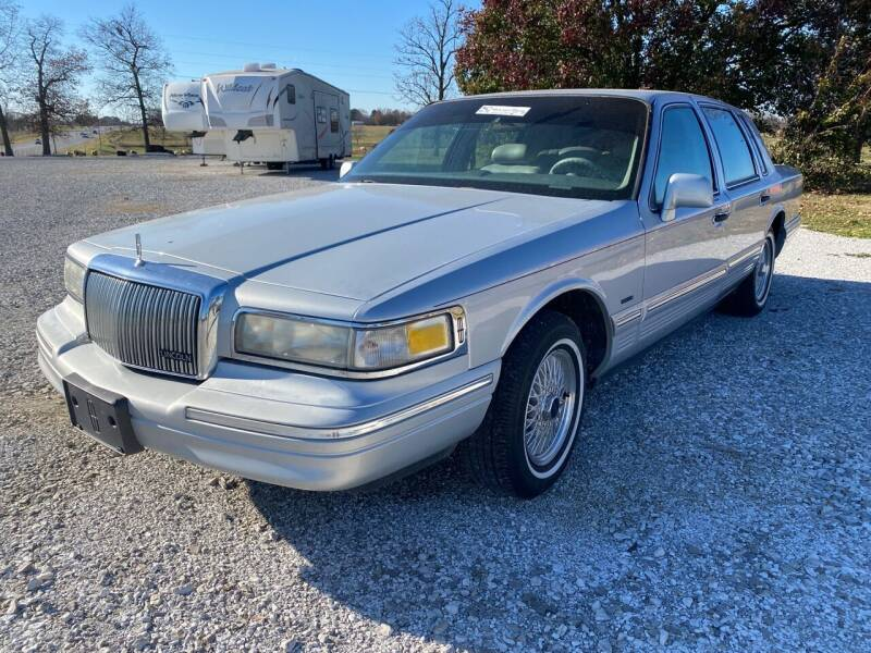 1996 Lincoln Town Car for sale at Champion Motorcars in Springdale AR