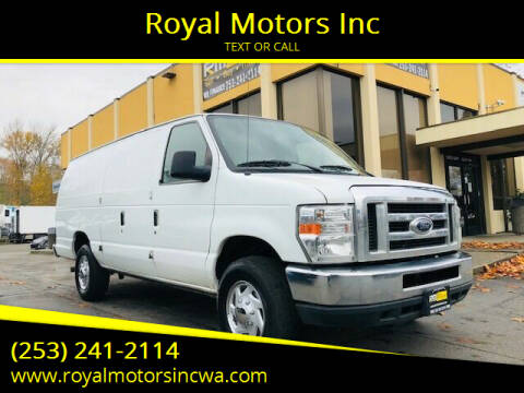 2008 Ford E-Series Cargo for sale at Royal Motors Inc in Kent WA