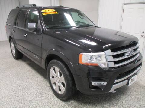2015 Ford Expedition for sale at LaFleur Auto Sales in North Sioux City SD