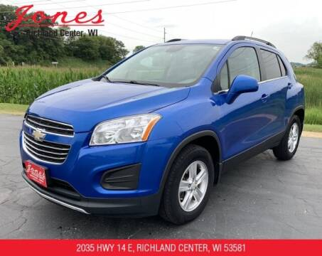 2015 Chevrolet Trax for sale at Jones Chevrolet Buick Cadillac in Richland Center WI