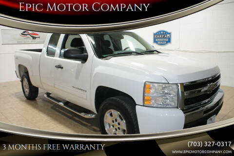 2011 Chevrolet Silverado 1500 for sale at Epic Motor Company in Chantilly VA
