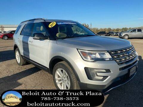 2017 Ford Explorer for sale at BELOIT AUTO & TRUCK PLAZA INC in Beloit KS