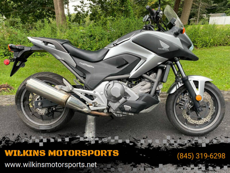 2012 Honda NC700X for sale at WILKINS MOTORSPORTS in Brewster NY