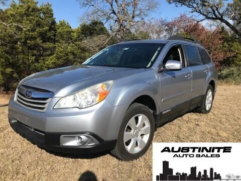 2012 Subaru Outback for sale at Austinite Auto Sales in Austin TX