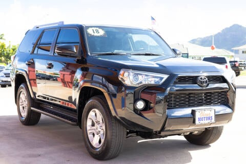 2018 Toyota 4Runner for sale at Ohana Motors in Lihue HI