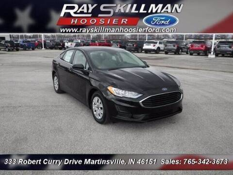 2020 Ford Fusion for sale at Ray Skillman Hoosier Ford in Martinsville IN