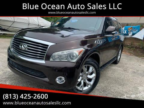 2011 Infiniti QX56 for sale at Blue Ocean Auto Sales LLC in Tampa FL