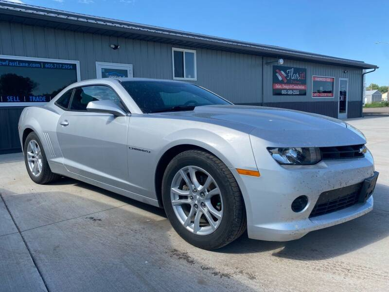 2015 Chevrolet Camaro for sale at FAST LANE AUTOS in Spearfish SD