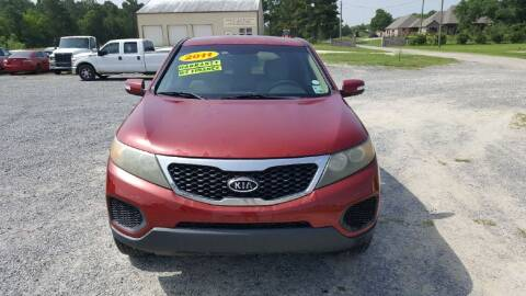 2011 Kia Sorento for sale at Auto Guarantee, LLC in Eunice LA