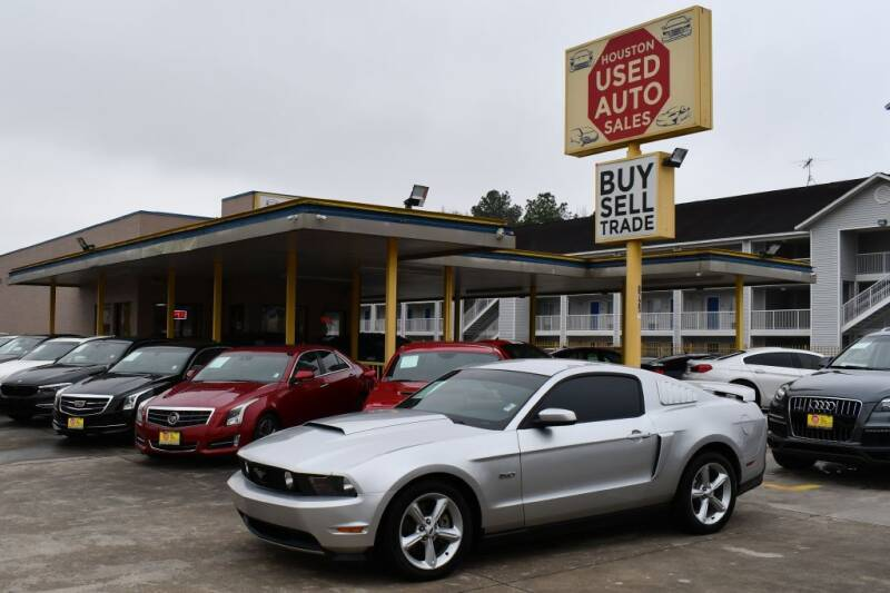 2011 Ford Mustang for sale at Houston Used Auto Sales in Houston TX