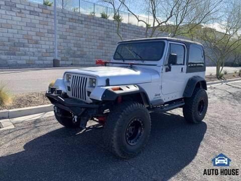 1995 Jeep Wrangler for sale at MyAutoJack.com @ Auto House in Tempe AZ