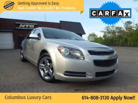 2010 Chevrolet Malibu for sale at Columbus Luxury Cars in Columbus OH
