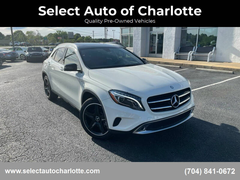 2015 Mercedes-Benz GLA for sale at Select Auto of Charlotte in Matthews NC