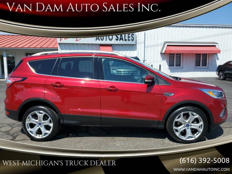 2017 Ford Escape for sale at Van Dam Auto Sales Inc. in Holland MI