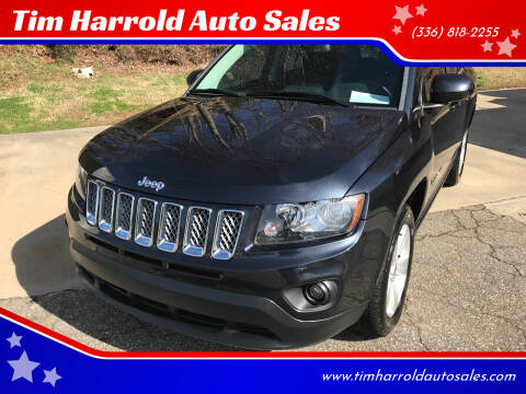 2014 Jeep Compass for sale at Tim Harrold Auto Sales in Wilkesboro NC