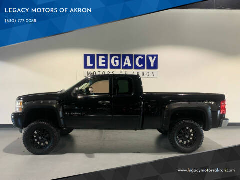 2007 Chevrolet Silverado 1500 for sale at LEGACY MOTORS OF AKRON in Akron OH