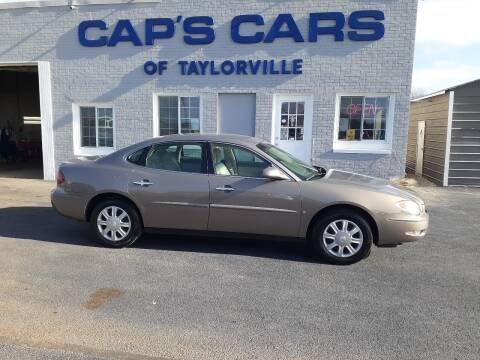 2006 Buick LaCrosse for sale at Caps Cars Of Taylorville in Taylorville IL