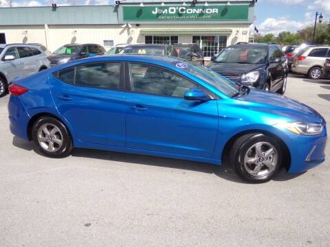 2017 Hyundai Elantra for sale at Jim O'Connor Select Auto in Oconomowoc WI