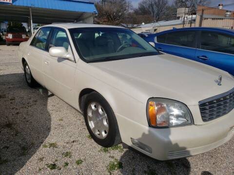 2002 Cadillac DeVille for sale at HAYNES AUTO SALES in Weatherford TX