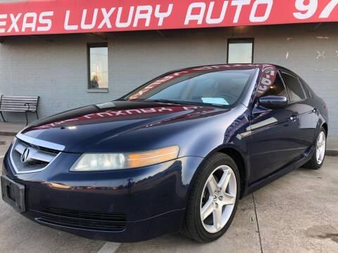 2004 Acura TL for sale at Texas Luxury Auto in Cedar Hill TX