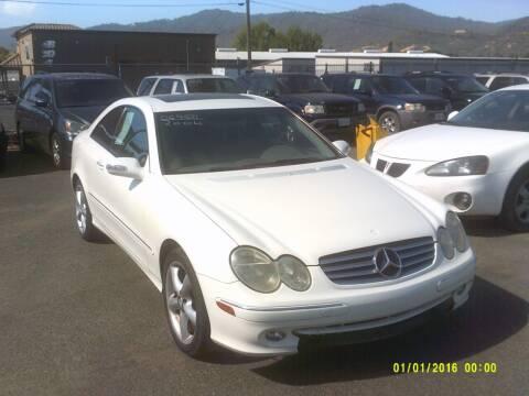 2004 Mercedes-Benz CLK for sale at Mendocino Auto Auction in Ukiah CA
