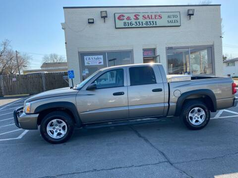 2006 Dodge Dakota for sale at C & S SALES in Belton MO