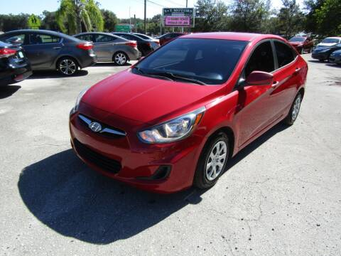 2013 Hyundai Accent for sale at S & T Motors in Hernando FL
