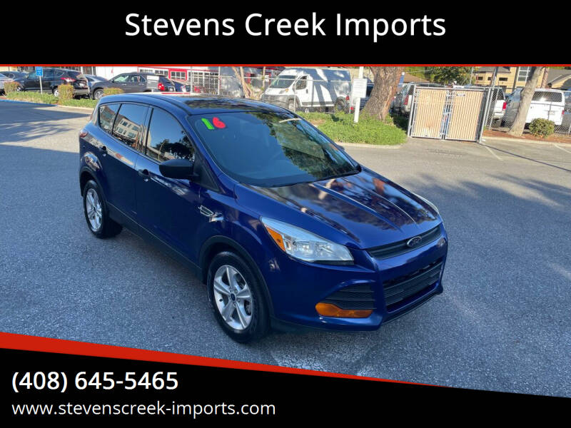 2016 Ford Escape for sale at Stevens Creek Imports in San Jose CA