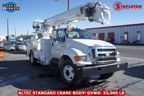2007 Ford F-750 Super Duty for sale at STAPLETON MOTORS in Commerce City CO