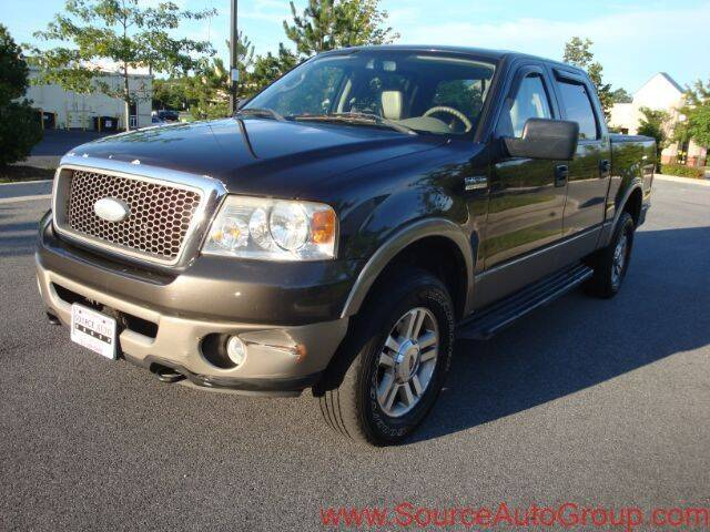 2006 Ford F-150 for sale at Source Auto Group in Lanham MD