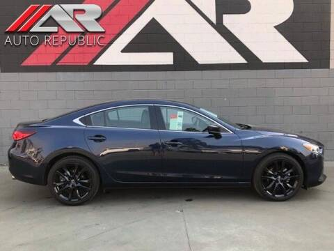 2017 Mazda MAZDA6 for sale at Auto Republic Fullerton in Fullerton CA